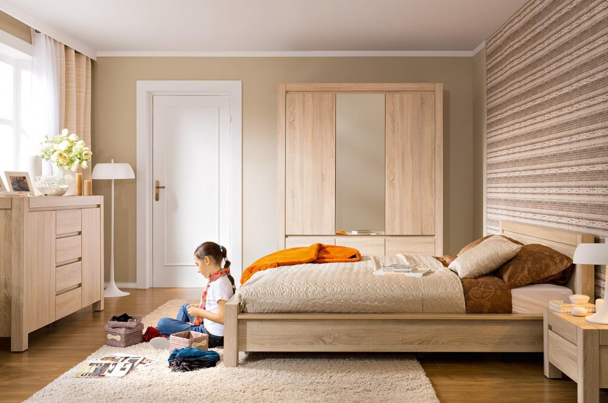 Hálószoba berendezés Agustyn bútorokból (BRW Agustyn termékcsalád ...